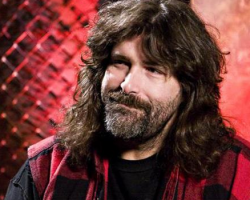 Mick Foley '87 was interviewed by Jon Stewart on