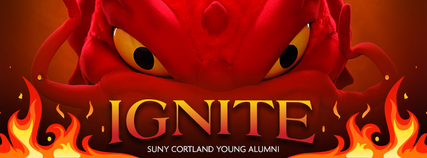 Ignite your LOVE for SUNY Cortland