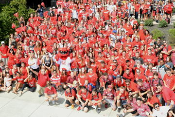 Red Dragon Pride Day Reaches Its Peak