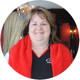 Lodging and Events Coordinator of Parks Alumni House LuAnn Poole